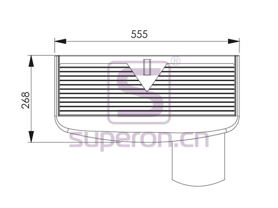 12-003-q | Keyboard support, plastic