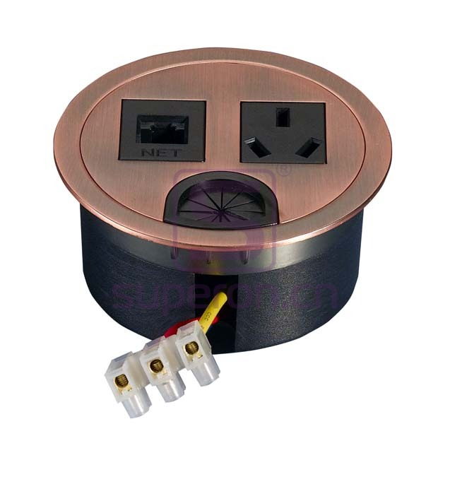 12-110-9   Table cap with sockets