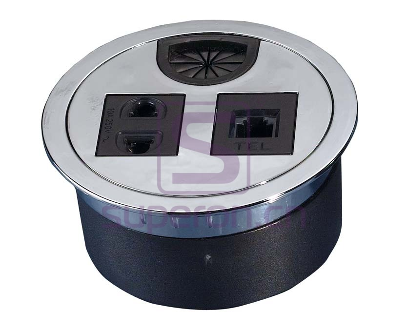 12-110_1   Table cap with sockets