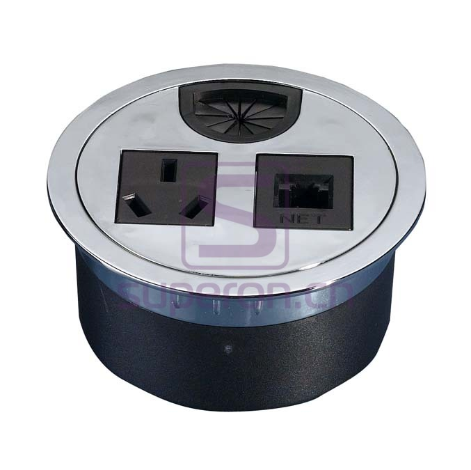 12-110_10 | Table cap with sockets