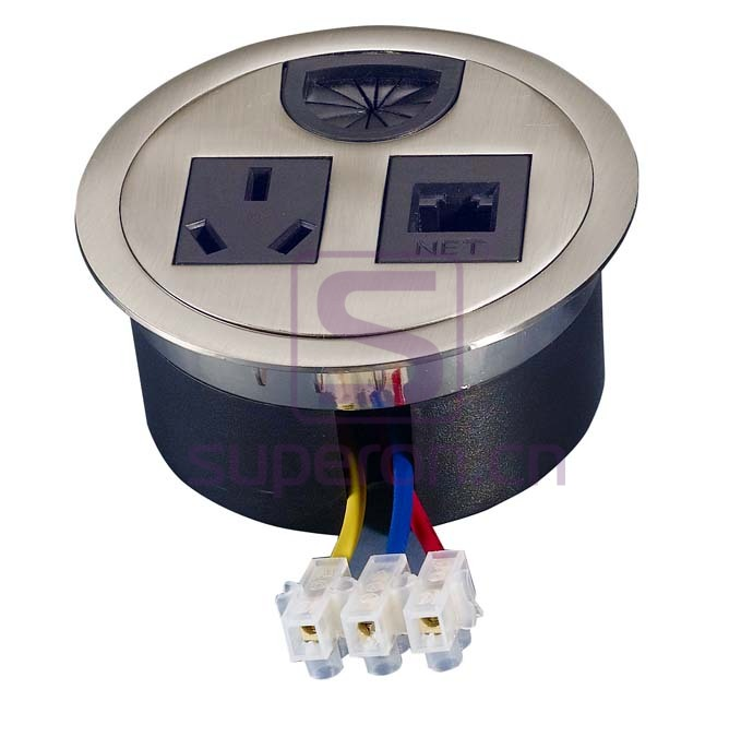 12-110_11 | Table cap with sockets