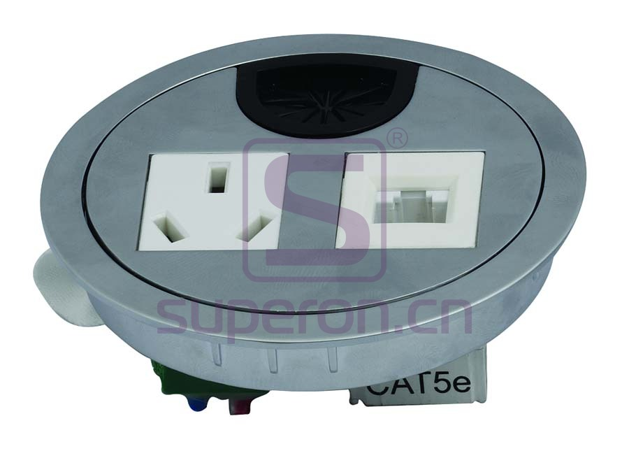 12-110_2   Table cap with sockets