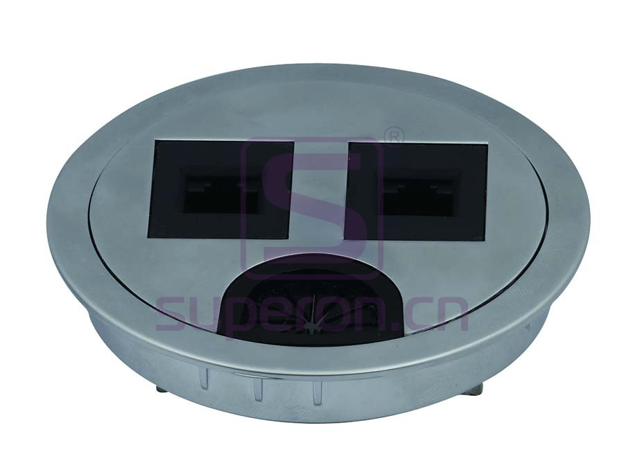 12-110_3 | Table cap with sockets