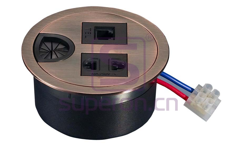 12-110_6 | Table cap with sockets