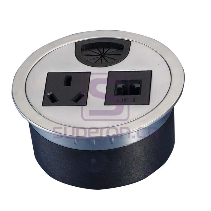 12-110_7   Table cap with sockets