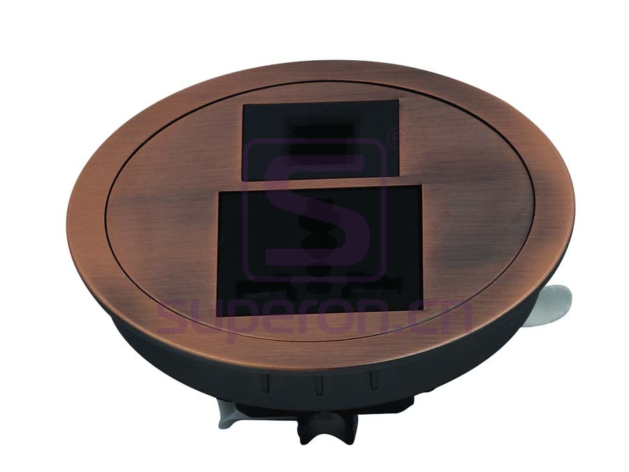 12-111_2 | Table cap with sockets