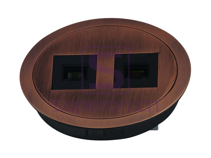 12-111_3 | Table cap with sockets