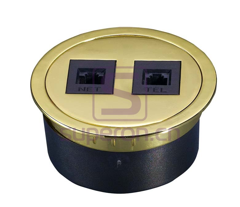 12-111_4 | Table cap with sockets