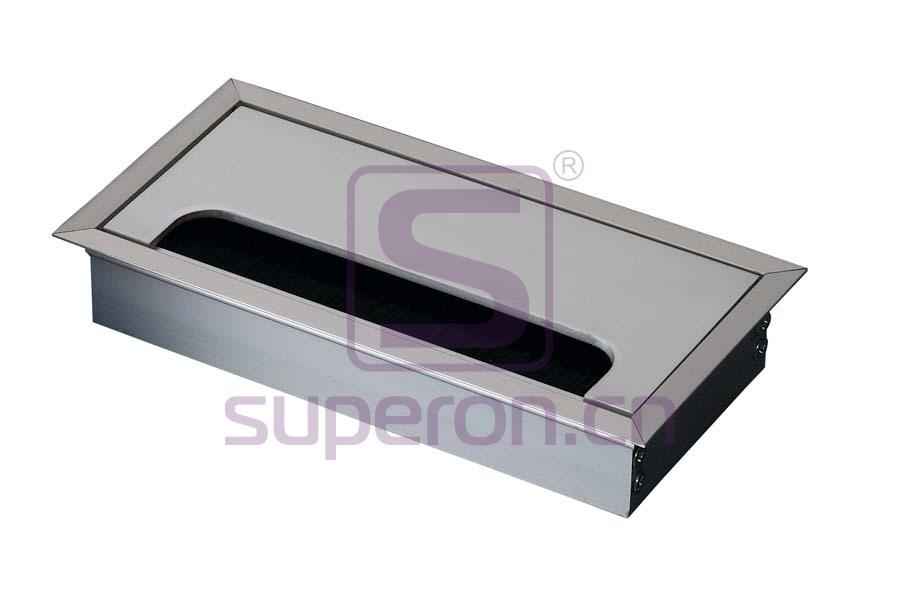 12-112-x | Hidden sockets block