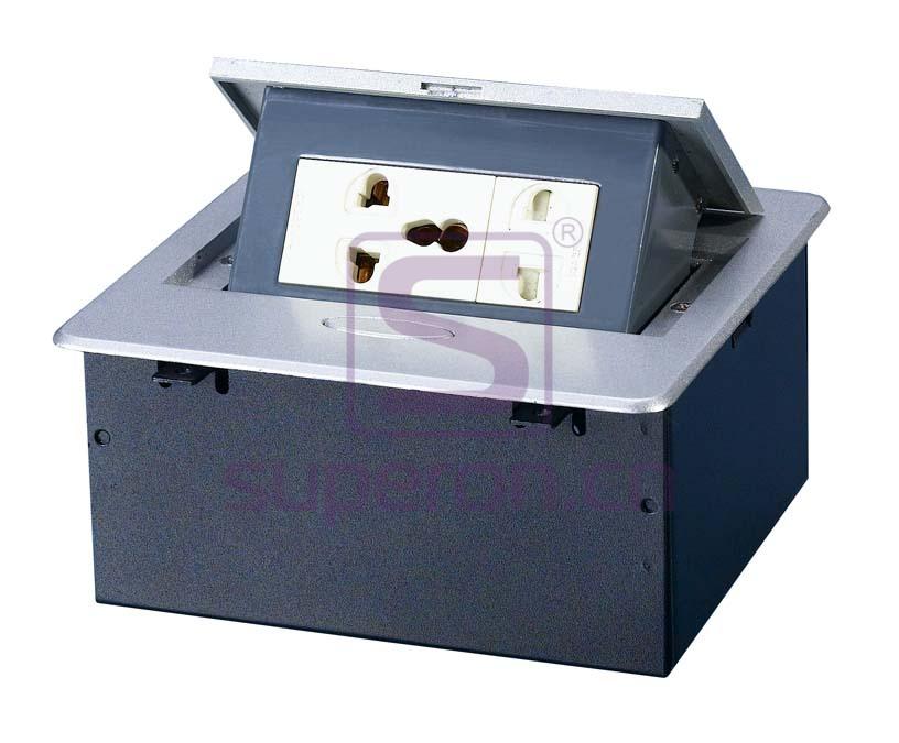 12-121-x1 | Hidden sockets block, table mount