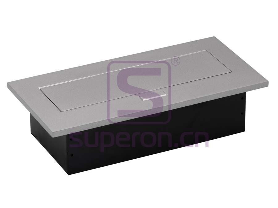 12-122_2 | Hidden sockets block, table mount