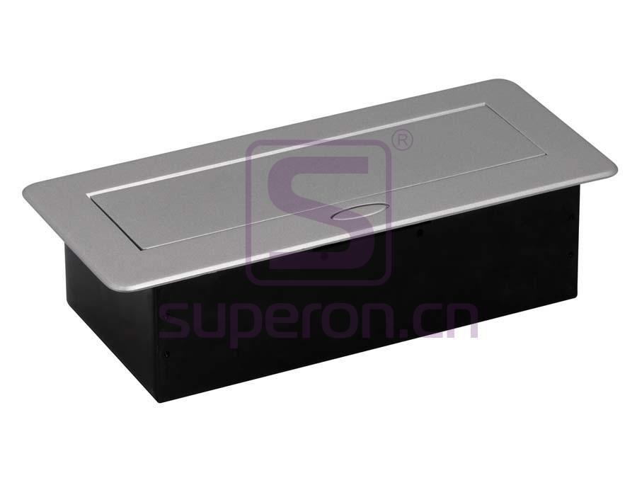 12-123_2 | Hidden sockets block, table mount