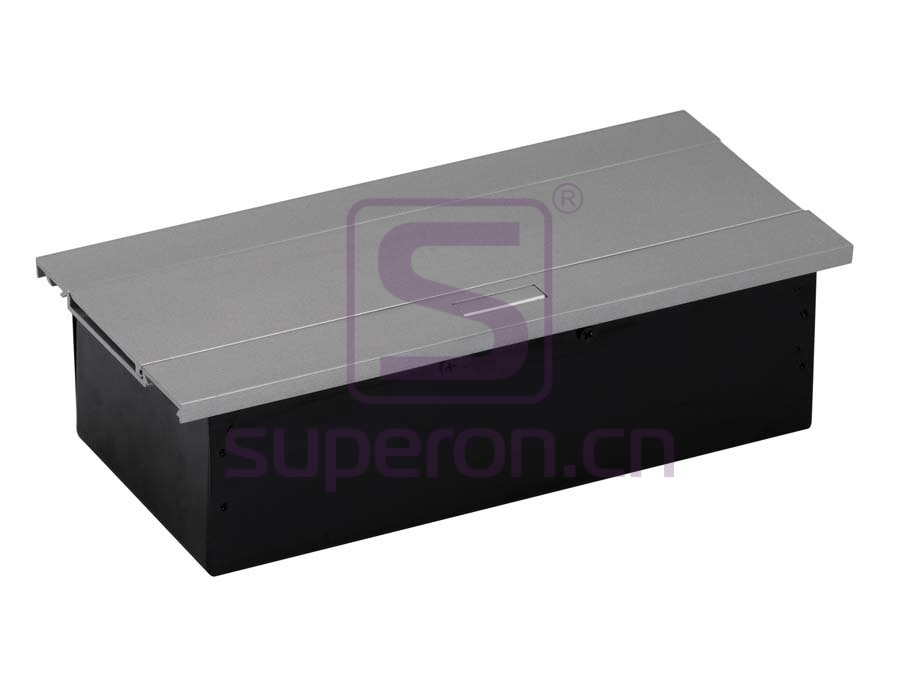 12-124_2 | Hidden sockets block, table mount