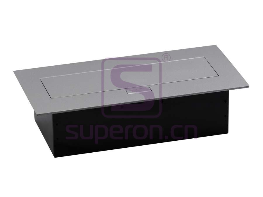 12-125_2 | Hidden sockets block, table mount