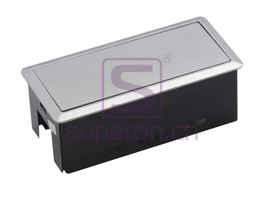 12-126_2 | Hidden sockets block, table mount