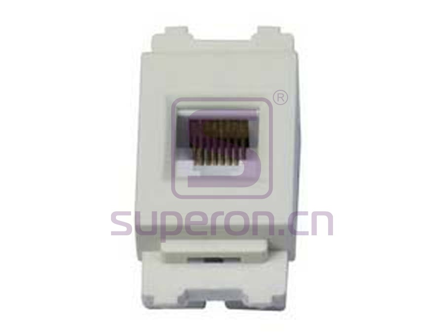 12-194-cat6 | Network cable socket