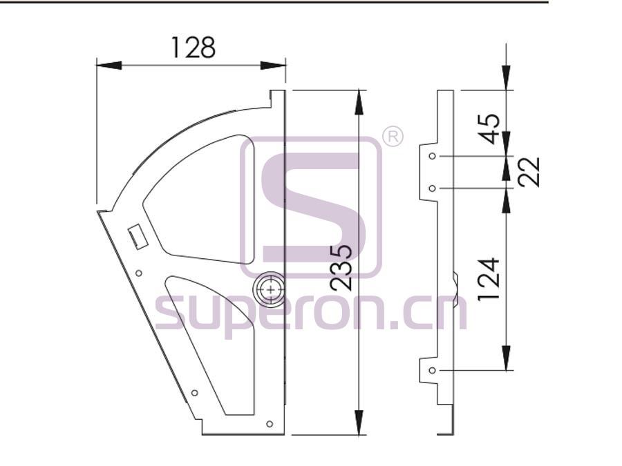 12-261-q | Holder for shoes racks