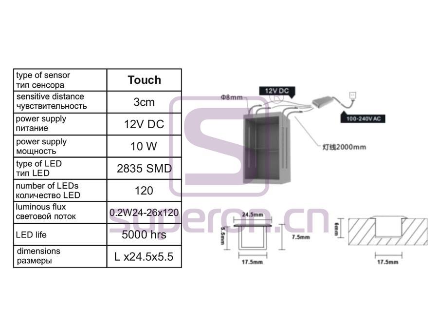 14-235-q   LED for cabinet