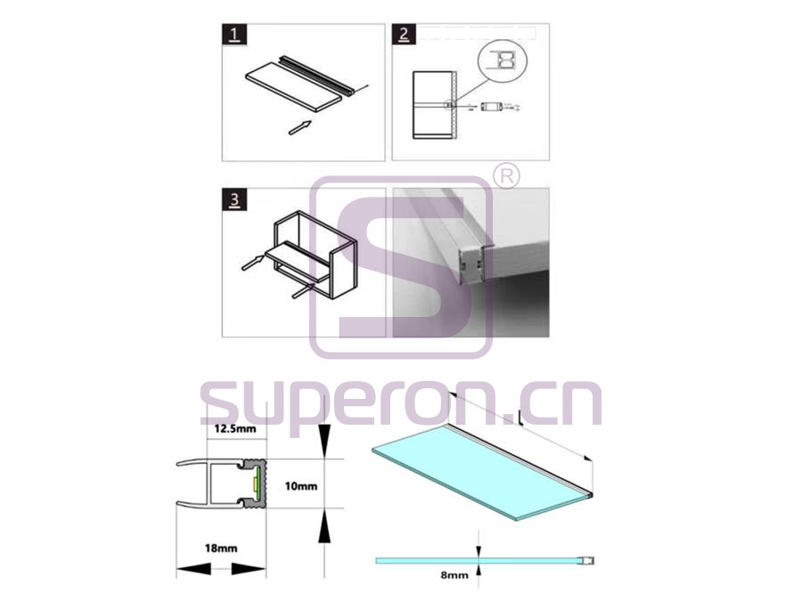 14-237-q | LED for cabinet