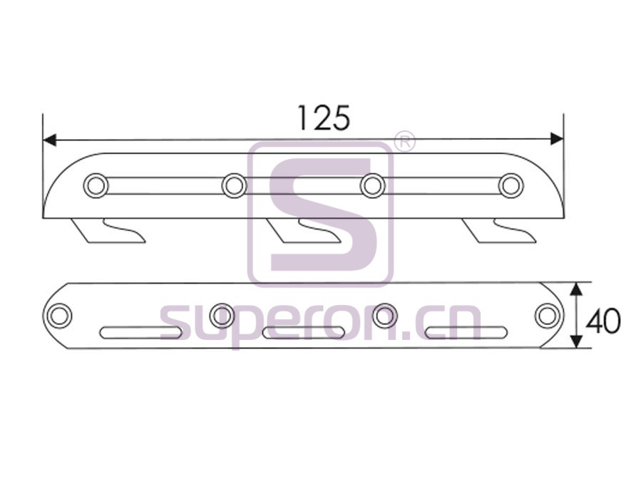 16-112-q | Bed connector