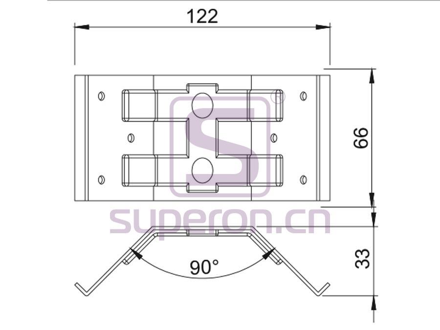 18-001-q | Corner for table legs