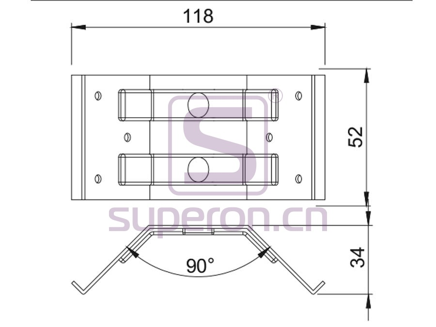 18-004-q | Mounting table plate