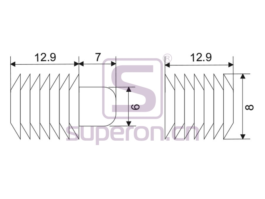 18-080-q | Fitting for slide table